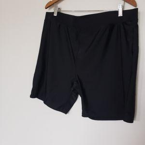 Like new swimwear Women's black shorts size 3X